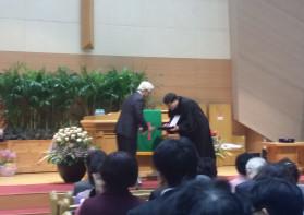 한 교회에서  70년,  68년 섬기신 장로님,  권사님^^