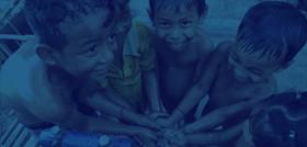 캄보디아 '생명의물' 신나는 물장난
