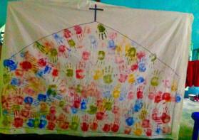방글라데시에서 세운 교회