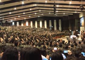 논산훈련소 세례식 예배