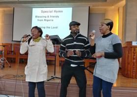 웨신대의 나이지리아 학생들 특송