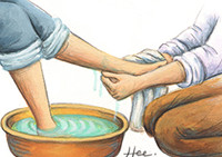 주님은 아름다운 손을 보고 싶어 하신다.