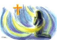 그리스도 안에서 죽는  천당의 별세