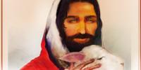 예수님과 어린양-목자의 마음-